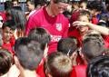 Una temporada más, la Fundación Atlético de Madrid pone en marcha su escuela en Segovia