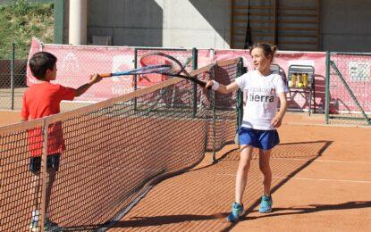 El Circuito de Aficionados de Tenis llegó a Espacio Tierra