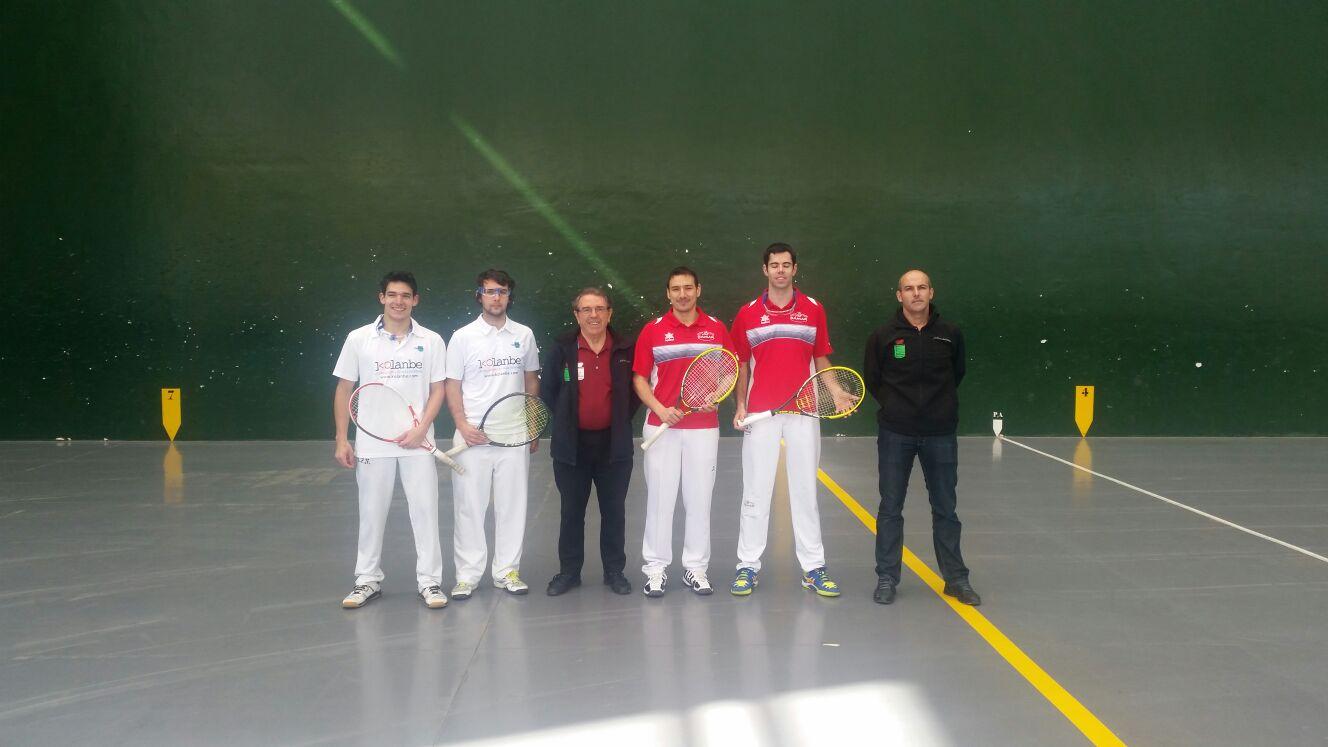 I Torneo de Frontenis Olímpico de Castilla y León