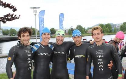 Destacada actuación del Club Triatlón IMD Segovia