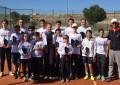 Finaliza el Campeonato Provincial de Tenis
