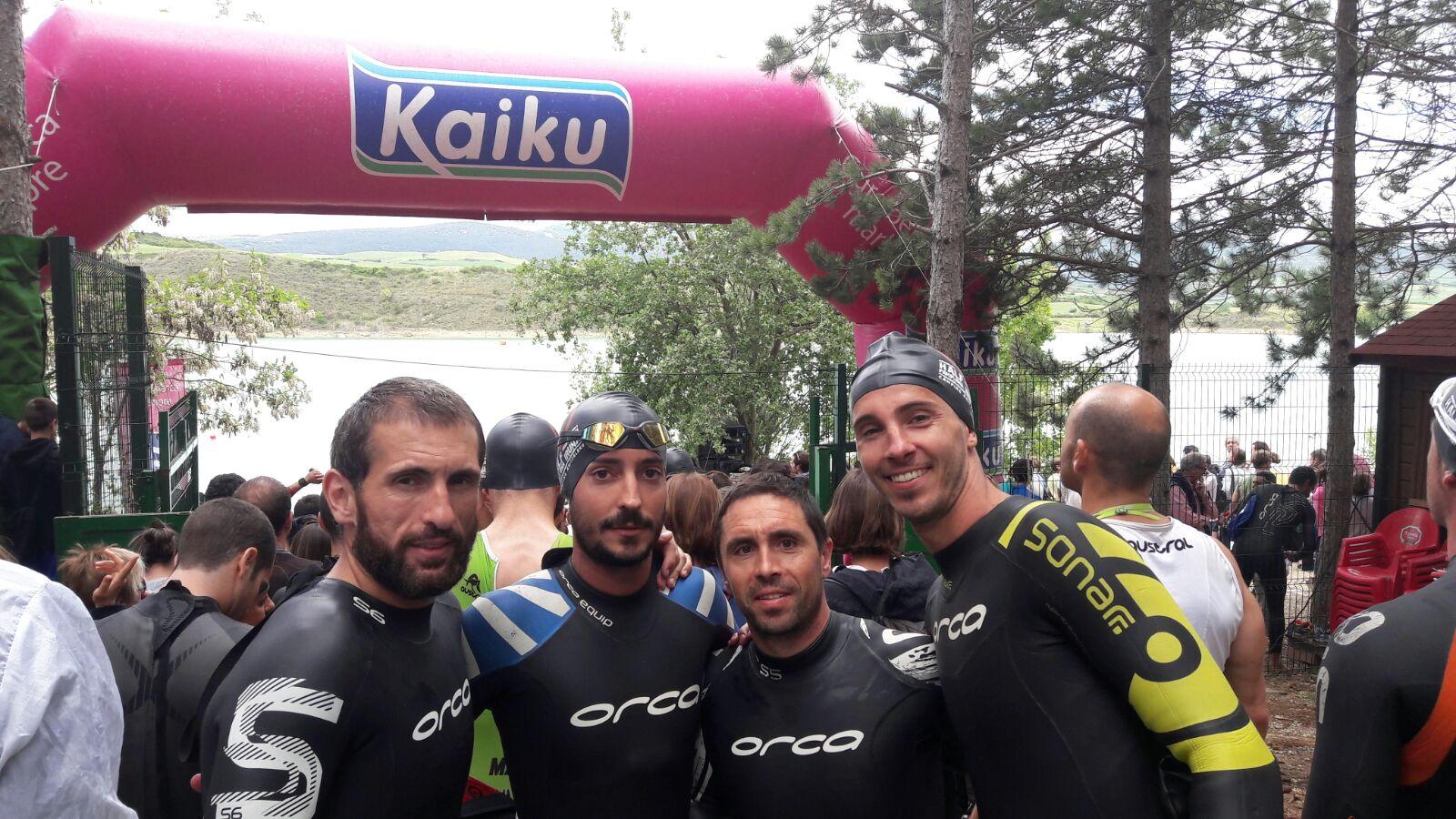 El club Triatlón IMD Segovia, bronce por equipos en el Triatlón de Fuente Álamo