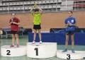 La segoviana Ángela Rodríguez García campeona del Torneo Zonal de Tenis de Mesa