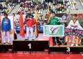 Enrique Herrero bronce en el IV Open de Aragón de Taekwondo