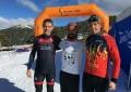 Israel Tapias, del Club Triatlón IMD Segovia, campeón de Castilla y León de Triatlón de Invierno