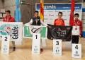 Enrique Herrero, vencedor en el Campeonato Promoción cadete de Taekwondo de la Comunidad de Madrid