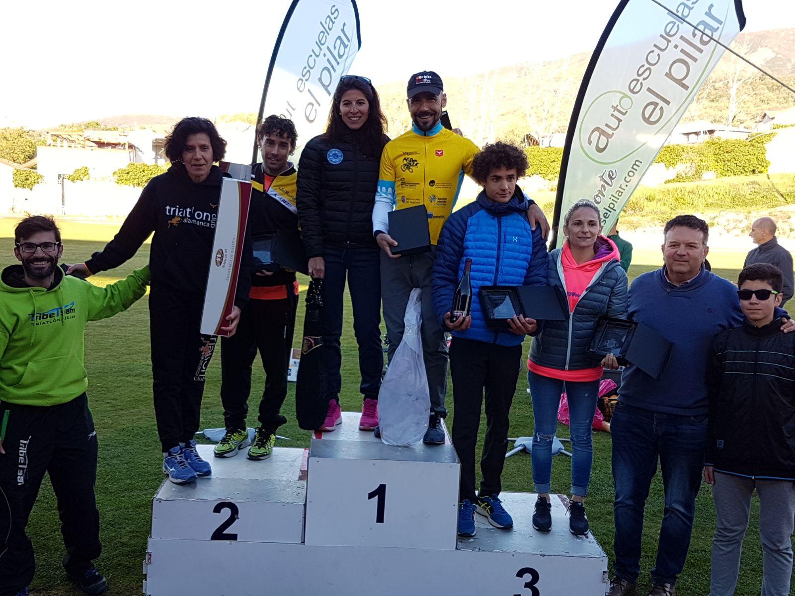 Buenos resultados del club Triatlón IMD Segovia en Bejar, Santa Mª del Páramo, Pamplona y Juarros de Voltoya