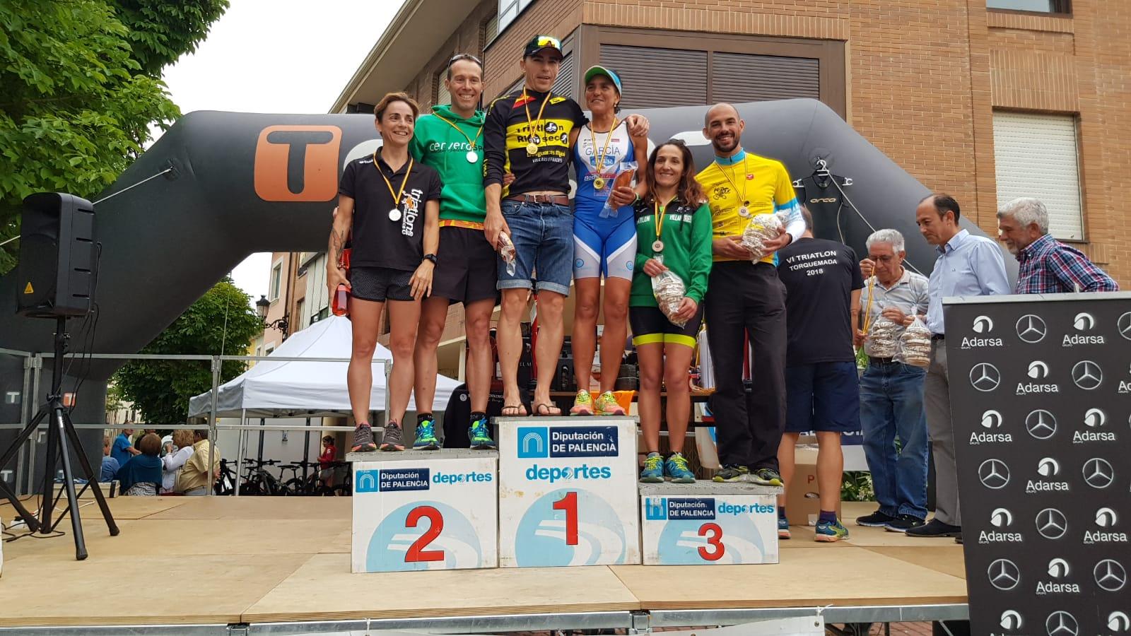 Nuevas medallas para el Triatlón IMD Segovia