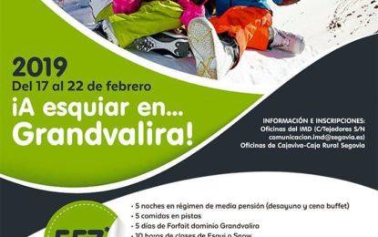 Campaña de Esquí Alpino-Andorra Febrero 2019