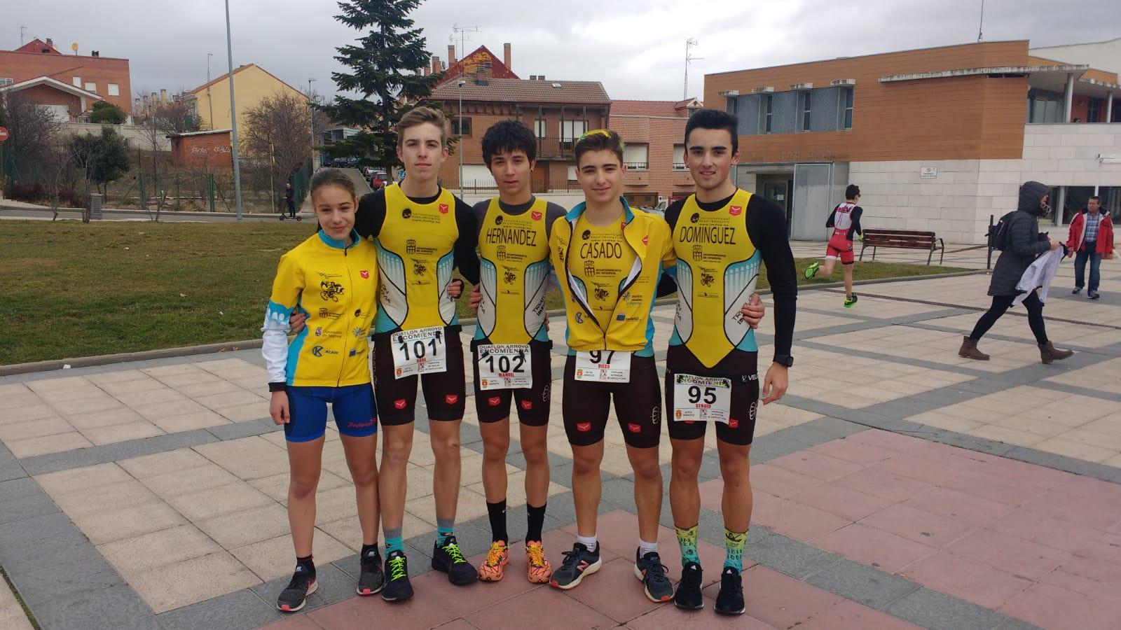 Club Triatlón IMD Segovia: Crónica del Fin de Semana
