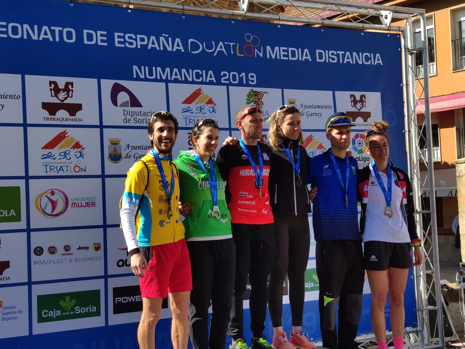El Triatlón IMD Segovia, subcampeón de Castilla y León por equipos