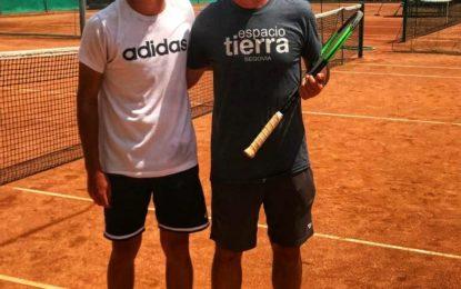 El tenista segoviano, Nicolás Herrero, cuarto finalista en  el Torneo ITF