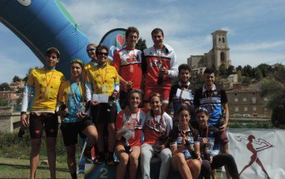 El Club Triatlón IMD Segovia subcampeón de Castilla y León de Triatlón por Relevos Mixtos