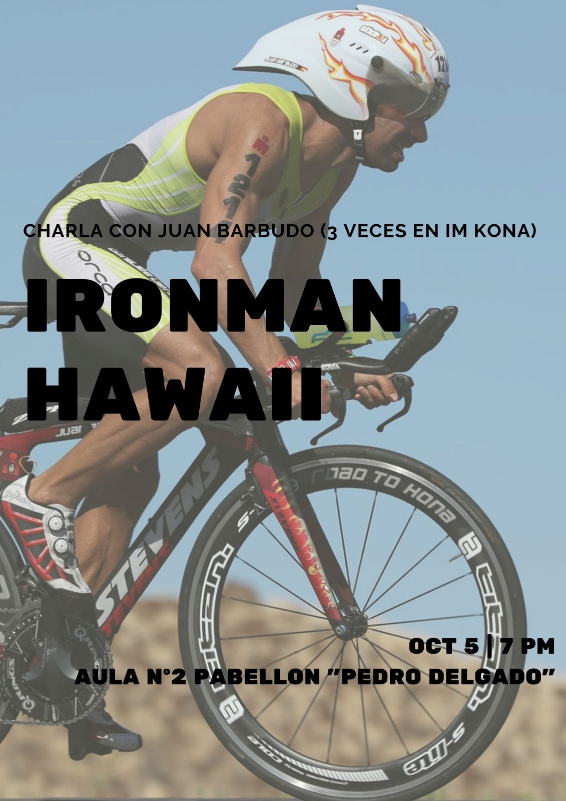 Charla-coloquio de Juan Barbudo: Ironam Hawaii