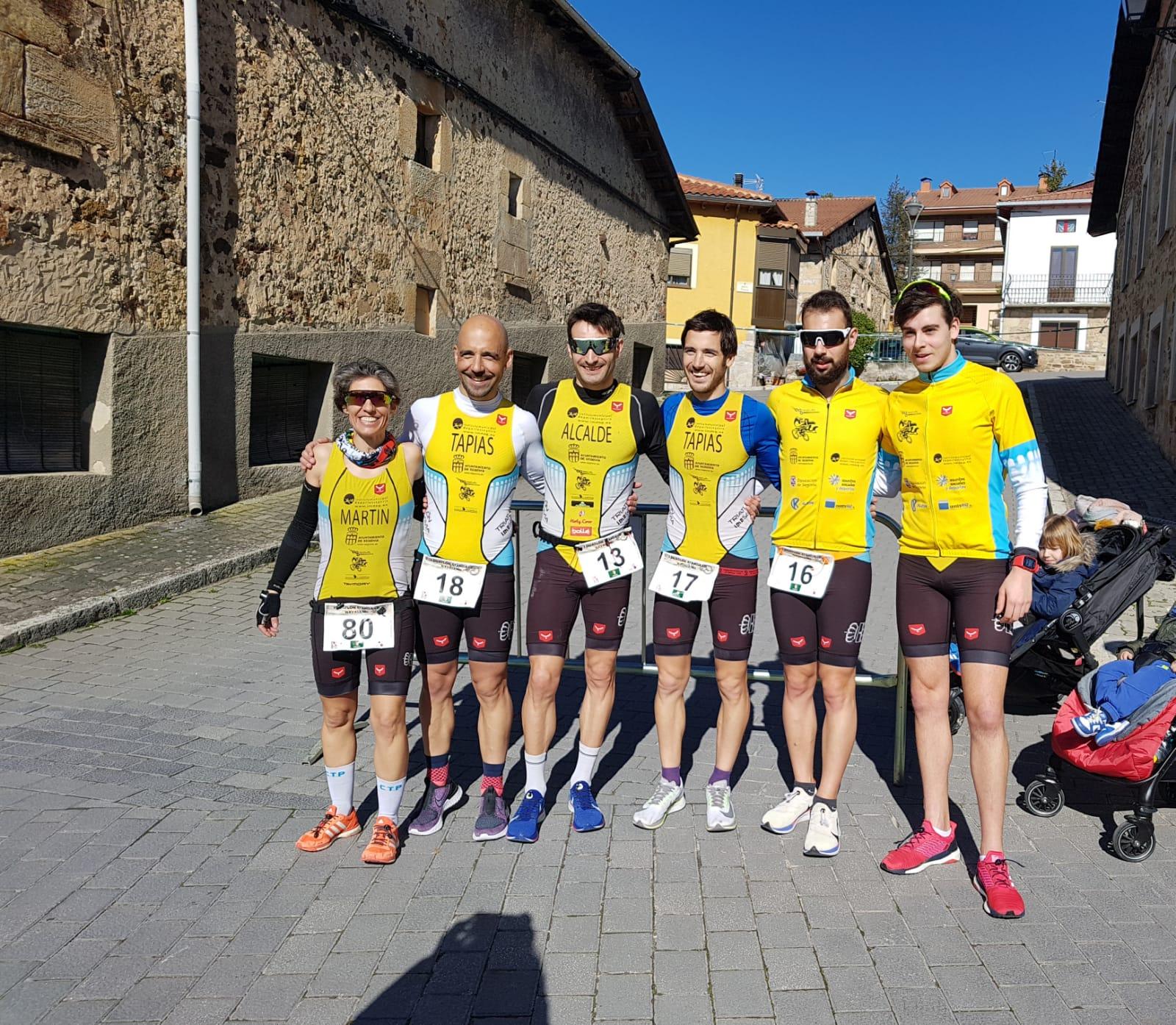 El Club Triatón IMD Segovia bronce en el Campeonato de Castilla y León de Duatlón Standard