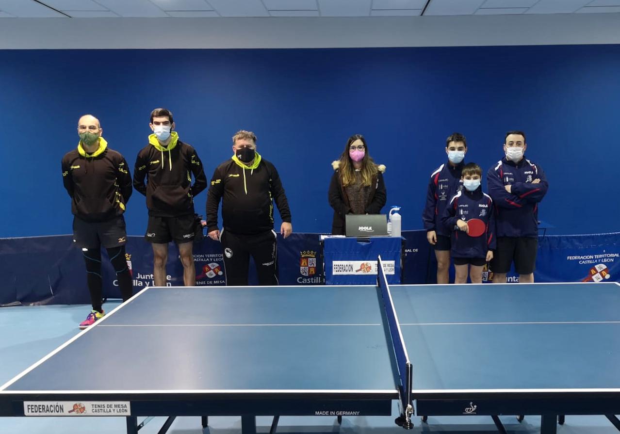 Disputada la Primera concentración de 3ª Nacional de Tenis de Mesa