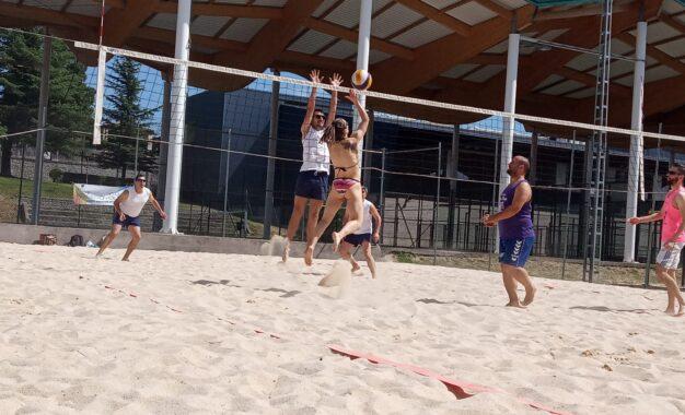 C.D. Segovoley: buena participación en el Torneo Voley Playa 2021