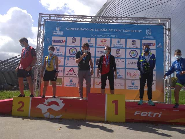 Dos medallas para el Triatlón IMD Segovia en el Nacional de Triatlón Sprint