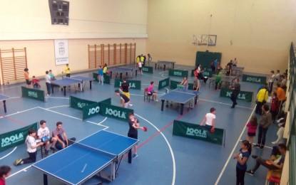 Intensa jornada escolar de Tenis de Mesa en busca de un puesto en la Final Provincial