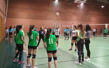Deporte Escolar: El voleibol femenino triunfa en los encuentros de educación secundaria y bachillerato