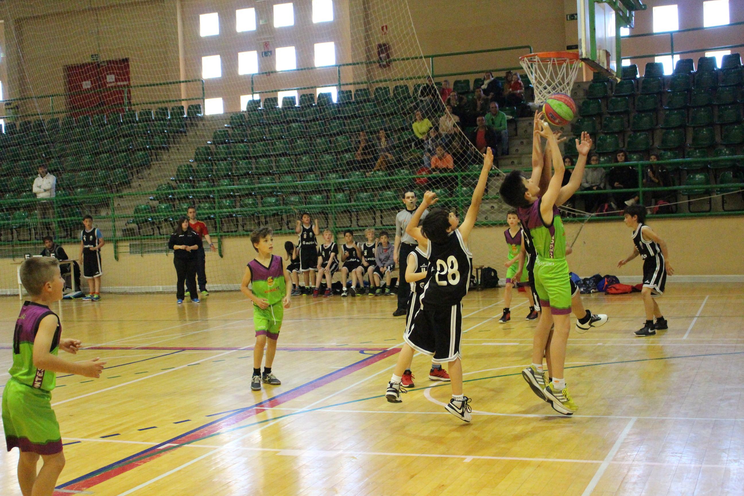 Comienzan las ligas de edad de baloncesto de la provincia de Segovia