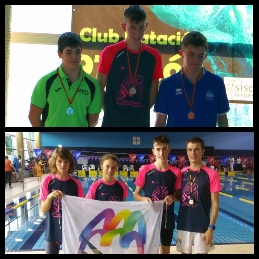 Iván Álvarez Vela obtiene 3 medallas en el IV Campeonato de Castilla y León Open Alevín de Natación