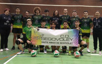 Debuta el Equipo Juvenil Masculino del Club Deportivo Segovoley