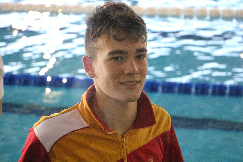 Segis Álvarez, seleccionado para el Campeonato de España de natación en Las Palmas de Gran Canaria