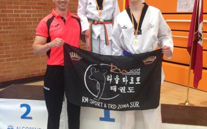 El C.D. Taekwondo RM-Sport & TKD zona sur continúa cosechando éxitos