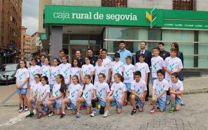 La Delegación Segoviana y Caja Viva Caja Rural presentaron las Selecciones de Segovia de Minibasket que disputarán el Torneo Regional de Centros PRD