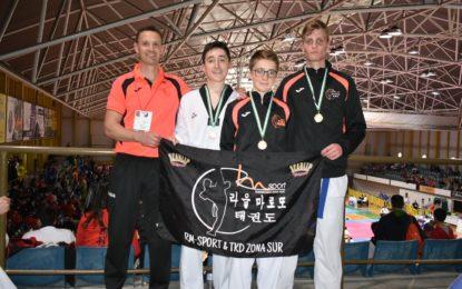 Pleno de medallas para el CD Taekwondo RM-Sport &TKD Zona Sur en el VI Open Internacional de Plasencia