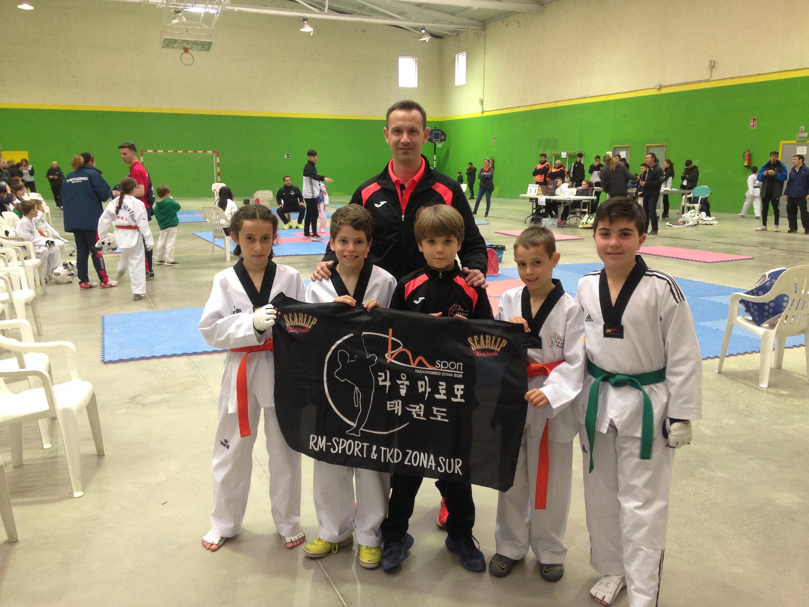 Nuevos éxitos para la cantera del CD Taekwondo RM-Sport&TKD Zona Sur