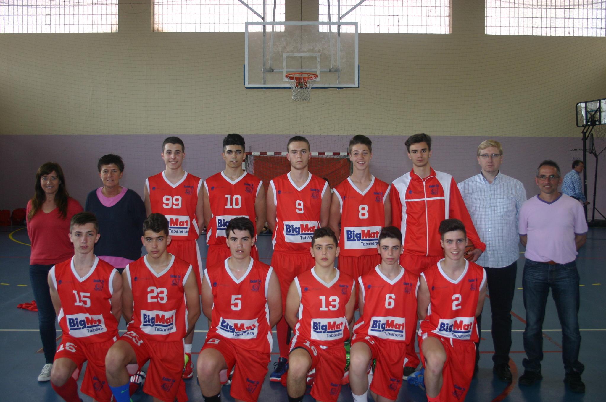 Basket 34 Bigmat Tabanera se proclama campeón de la Segunda División Autonómica Cadete Masculina