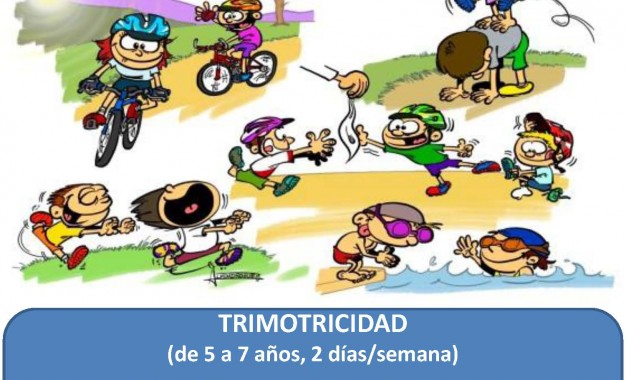 Escuela de Triatlón IMD Segovia: Trimotricidad