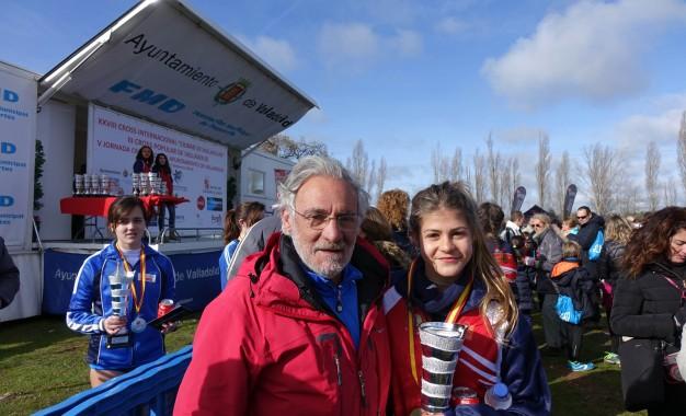 """Destacada participación del Vélox en el Cross Internacional """"Ciudad Valladolid"""""""