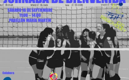Club Deportivo Segovoley: Jornada de Bienvenida