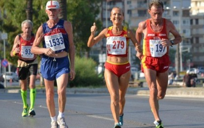 Campeonato de Europa de Veteranos de Media Maratón en Grosseto (Italia)