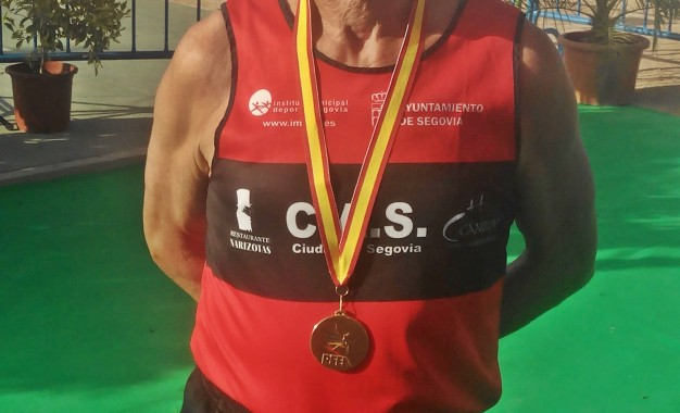 El atleta del Venta Magullo José Antonio Arias de la Cruz consigue el cuarto puesto en el nacional de la milla en ruta en M-70