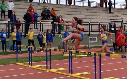 La atleta del Sporting Segovia, Leonor de Lama, logró la cuarta posición en el Campeonato de España Sub14