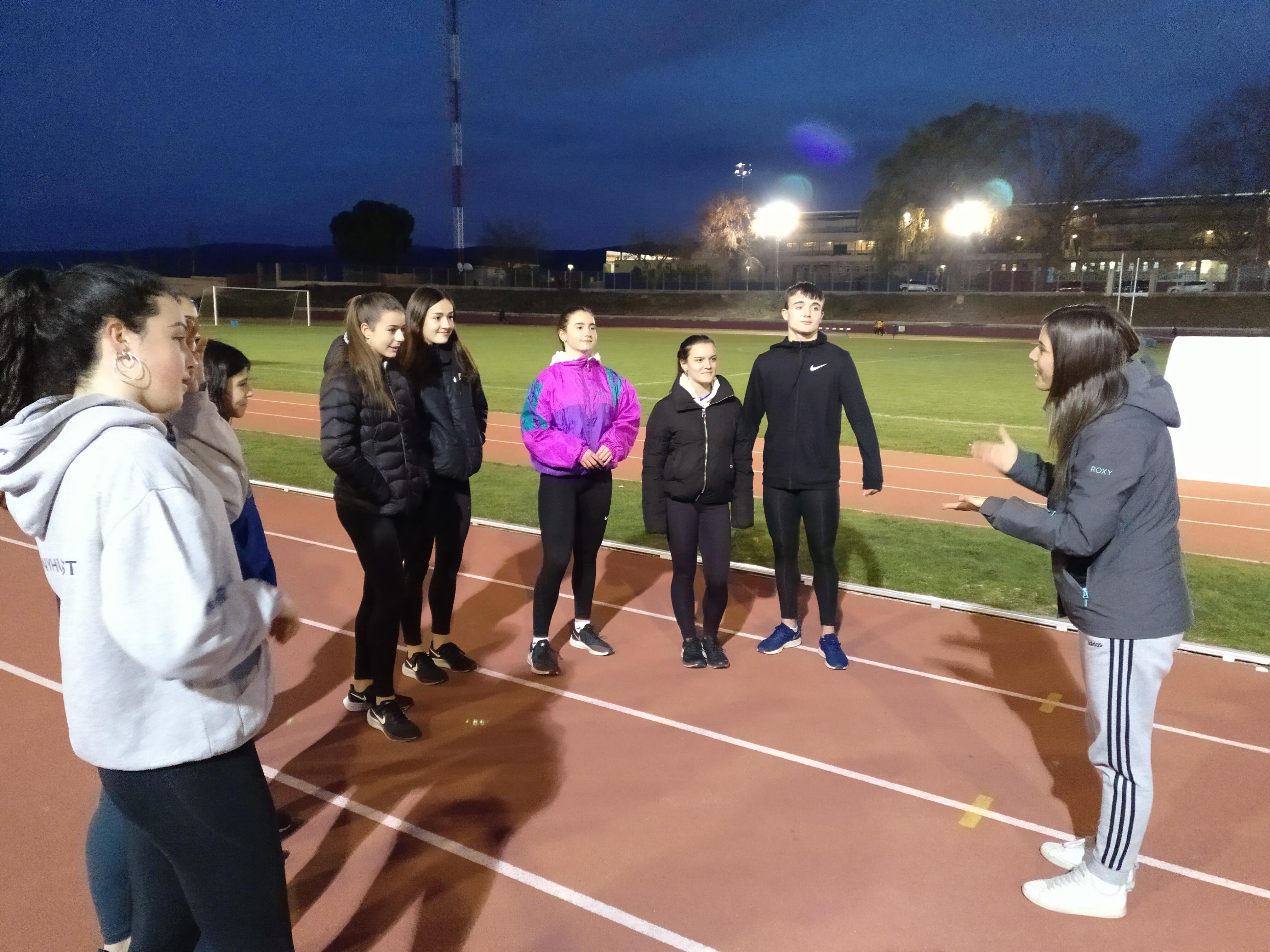 Leyre Sánchez la nueva responsable autonómica de atletismo del Área de combinadas