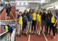 Varias mínimas nacionales para las atletas del Sporting Segovia: Sofía Martín y Claudia Corral