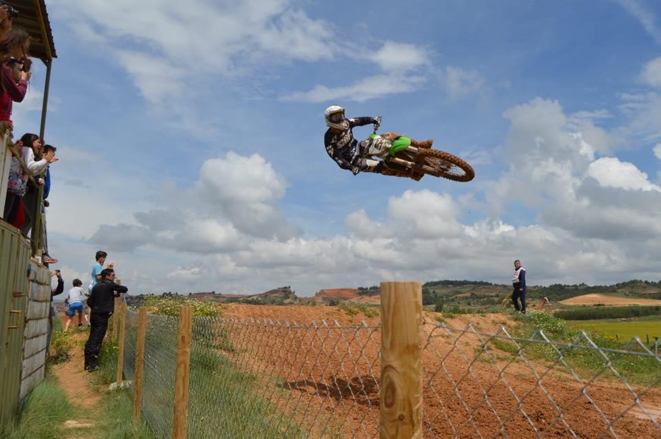 Nueva victoria de Eduardo Esteban en la prueba del Campeonato de Castilla y León de Motocross
