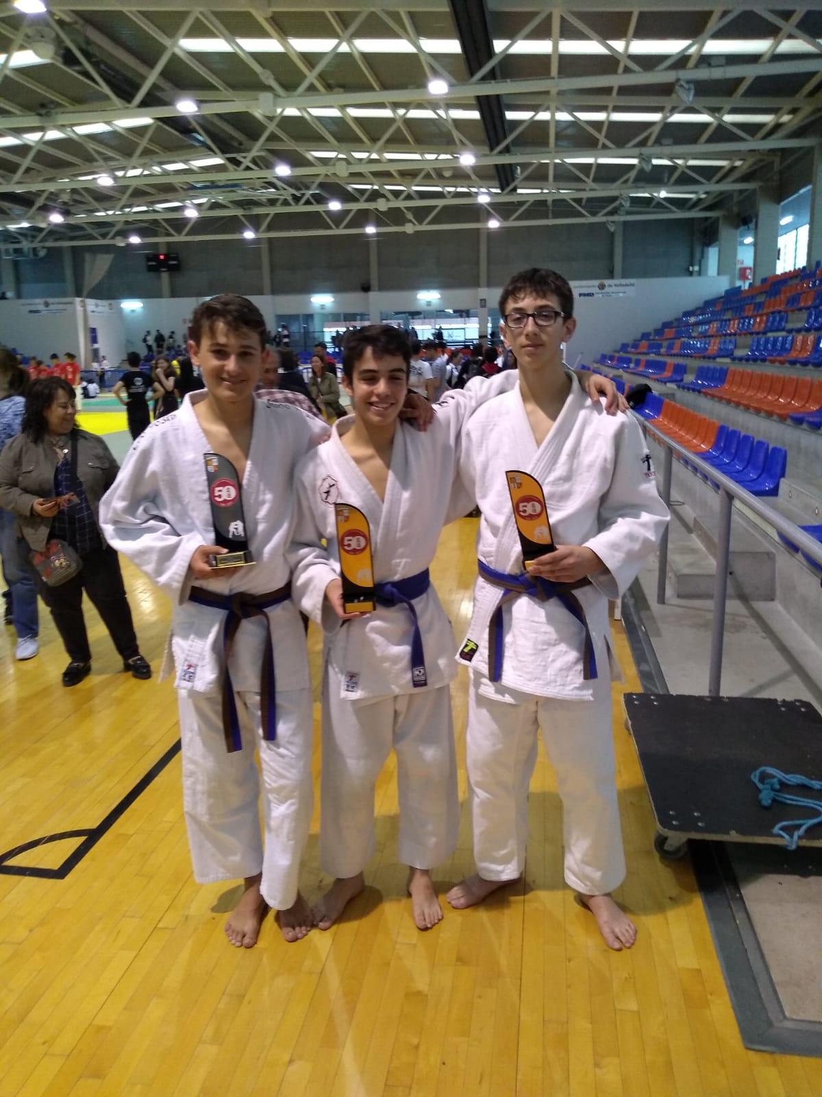 Buenos resultados para el C.d. Judo Yoshi en el Campeonato Autonómico Infantil