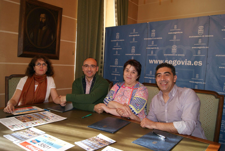 """El Ayuntamiento mantiene su apoyo a la organización de la Media Maratón """"Ciudad de Segovia"""""""