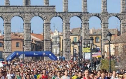 "IX Media Maratón ""Ciudad de Segovia"" 2015"