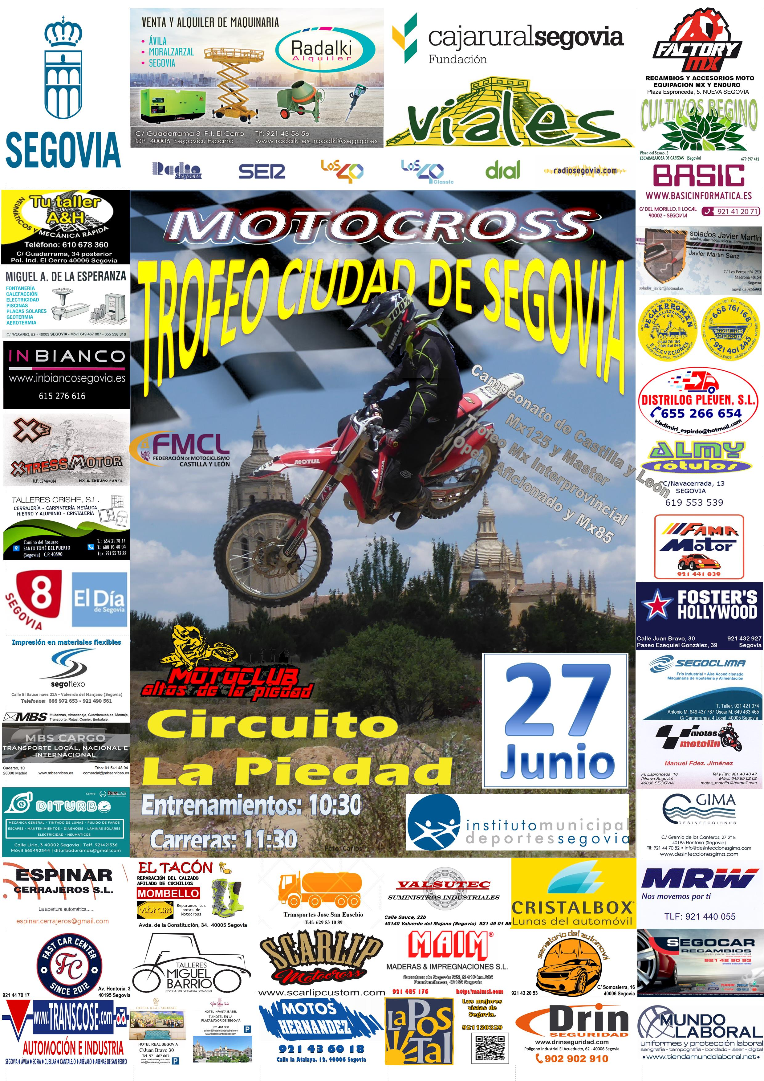 "Motocross IV Trofeo ""Ciudad de Segovia"""