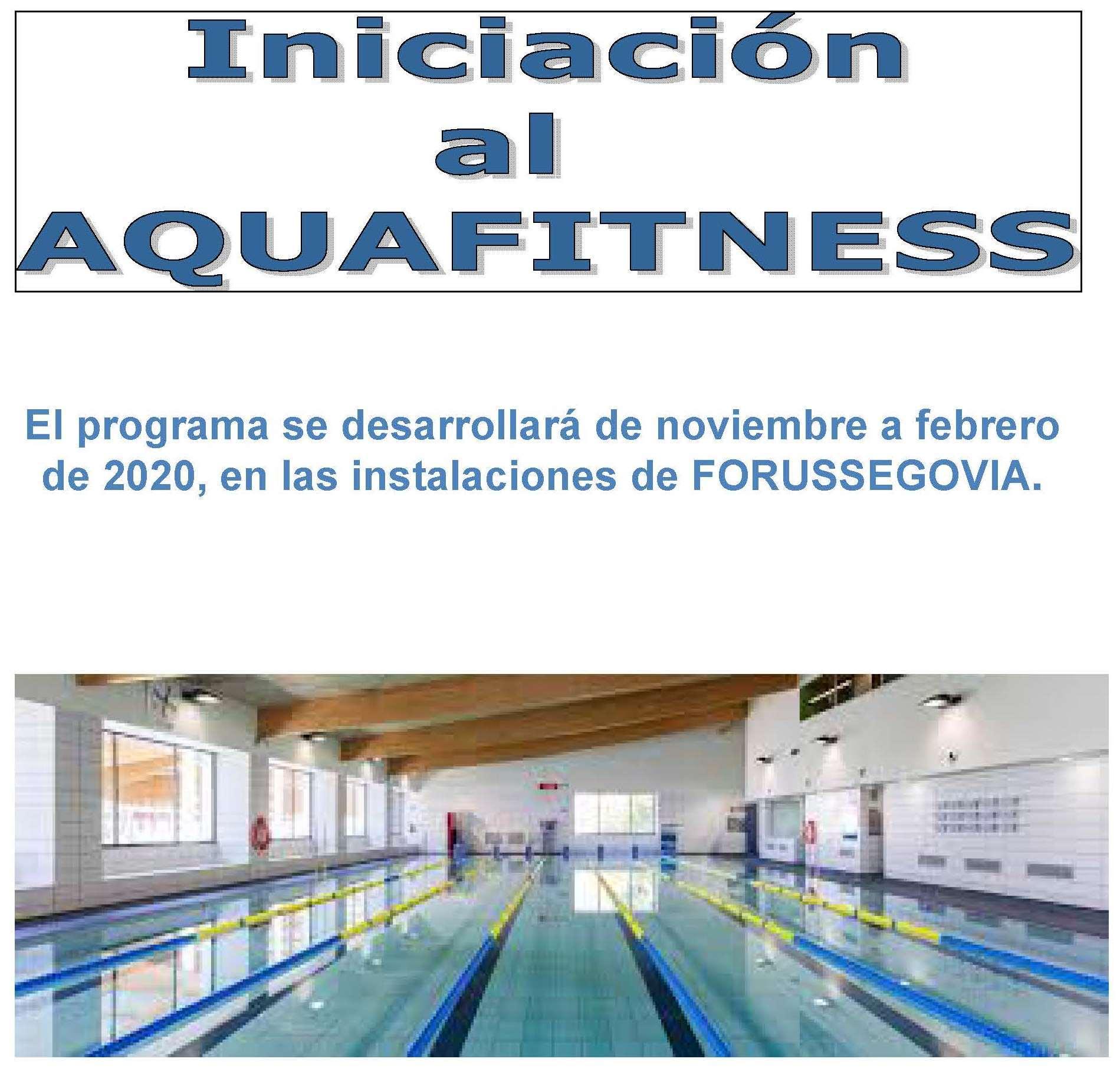"""""""TAFAD DUAL V-IES LA ALBUERA"""" : Iniciación al Aquafitness"""