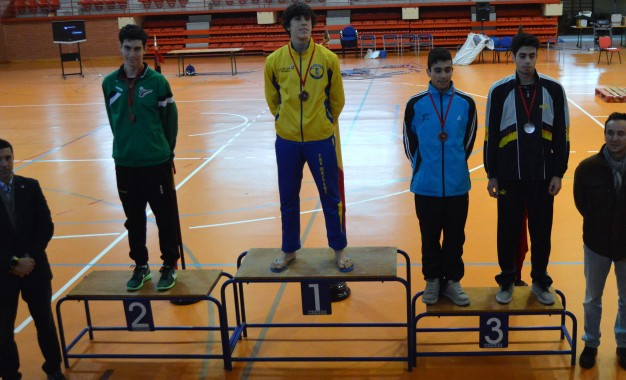 "Ignacio de Benito ""Plata"" en el I Open Madrid Taekwondo Junior ""KP&P"""