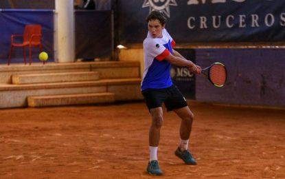 Nicolás Herrero semifinalista en el Torneo Internacional del Teide