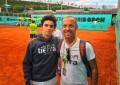 Excelente participación del tenista segoviano, Nicolás Herrero, en el Mutua Madrid Open